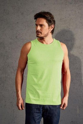 Men?s Athletic-T, Single Jersey, 100 % Baumwolle, 150 g/m² wild lime XXL